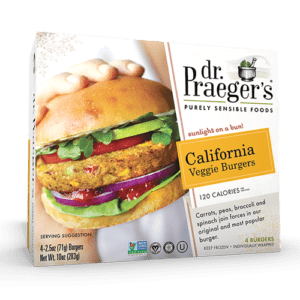 California Veggie Burger (4 oz)