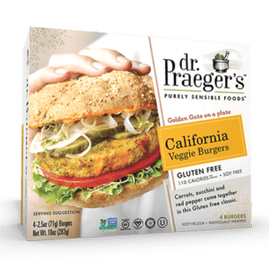California Veggie Burger Gluten Free (4oz)