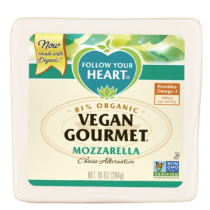 Gourmet Mozzarella Made w/ Organic (Blocks)
