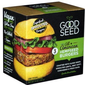 All American Hempseed Burger (Retail)